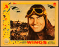 "Movie Posters:Academy Award Winners, Wings (Paramount, 1927). Lobby Card (11"" X 14"").. ..."