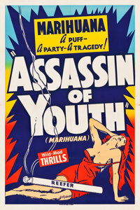 "Assassin of Youth (Roadshow, 1937). One Sheet (28"" X 42.25"")"