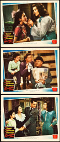 "Movie Posters:Comedy, The Philadelphia Story (MGM, 1940). Lobby Cards (3) (11"" X 14"")..... (Total: 3 Items)"