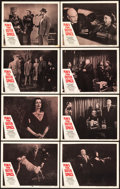 """Movie Posters:Science Fiction, Plan 9 from Outer Space (DCA, 1958). Lobby Card Set of 8 (11"""" X14"""").. ... (Total: 8 Items)"""