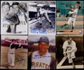 Autographs:Photos, Pittsburgh Pirates Signed Photograph Lot of 17....