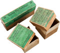 Ammunition, Lot of 1 Full Sharps Ammunition Box and 2 Empty All by Winchester.... (Total: 3 Items)