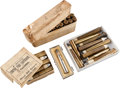 Ammunition, Lot of 1 Rare Box of Antique Sharps Rifle Ammunition by Sharps andOther Mixed Cartridges.... (Total: 4 Items)