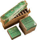 Ammunition, Lot of 3 Boxes of Antique Sharps Rifle Ammunition by Winchester. ... (Total: 3 Items)