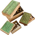 Ammunition, Lot of 3 Boxes of Antique Sharps Rifle Ammunition by UMC.... (Total: 3 Items)