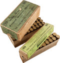 Ammunition, Lot of 2 Antique Sharps Ammunition Boxes by UMC.... (Total: 2 Items)