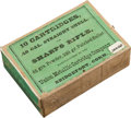 Ammunition, Sealed Box of .40 Caliber Sharps Rifle Ammunition by UMC....