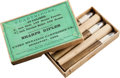 Ammunition, Box of Five .45 Rifle Cartridges for Sharps Rifles by UMC....