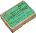 Ammunition, Box of Antique .44-90 Sharps Rifle Ammunition by Winchester....