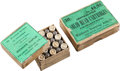 Ammunition, Lot of 2 Boxes of Antique Sharps Rifle Ammunition by Winchester andSharps.... (Total: 2 Items)