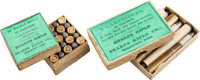 Lot of 2 Antique Ammunition Boxes by Sharps