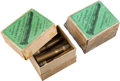 Ammunition, Lot of 2 Boxes of Antique Sharps Rifle Ammunition.... (Total: 2Items)