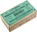 Ammunition, Unopened Box Of Model 1873 Rifle Ammunition by Winchester....