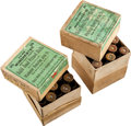 Ammunition, Lot of 2 Boxes of Antique Sharps Rifle Shells by Winchester. ... (Total: 2 Items)