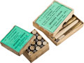 Ammunition, Lot of 2 Boxes of Antique Sharps Rifle Ammunition.... (Total: 2 Items)