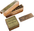 Ammunition, Lot of 3 Boxes of Antique Sharps Rifle Ammunition by Winchester.... (Total: 3 Items)