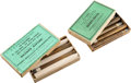 Ammunition, Lot of 2 Boxes of Sharps Rifle Ammunition by UMC.... (Total: 2 Items)