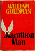 Books:Mystery & Detective Fiction, William Goldman. Marathon Man. New York: Delacorte Press,[1974]....