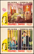 """Movie Posters:Comedy, Sullivan's Travels (Paramount, 1941). Lobby Cards (2) (11"""" X 14"""")..... (Total: 2 Items)"""