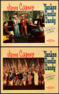 "Movie Posters:Musical, Yankee Doodle Dandy (Warner Brothers, 1942). Linen Finish LobbyCards (2) (11"" X 14"").. ... (Total: 2 Items)"