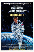 "Movie Posters:James Bond, Moonraker (United Artists, 1979). One Sheets (2) (27"" X 41"") Advance Styles A & B.. ... (Total: 2 Items)"