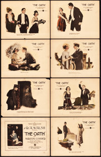 "The Oath (First National, 1921). Lobby Card Set of 8 (11"" X 14""). Drama. ... (Total: 8 Items)"