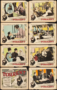 "Torrent (MGM, 1926). Lobby Card Set of 8 (11"" X 14""). Drama. ... (Total: 8 Items)"