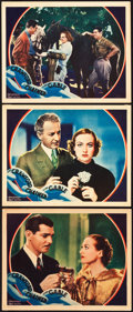 """Movie Posters:Drama, Chained (MGM, 1934). Lobby Cards (3) (11"""" X 14"""").. ... (Total: 3Items)"""