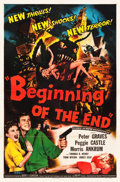 """Movie Posters:Science Fiction, Beginning of the End (Republic, 1957). One Sheet (27"""" X 41"""").. ..."""