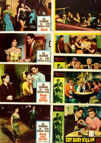 "[Lobby Cards]. Cry Baby Killer and Others Lot (Allied Artists, 1958). Lobby Cards (5) (11"" X 14"