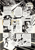 Original Comic Art:Illustrations, Al Williamson - Flash Gordon Union Carbide Magazine Ad Original Art (King Features, 1971)....