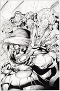 Original Comic Art:Covers, Jim Lee and Scott Williams Fantastic Four V2#5 CoverOriginal Art (Marvel/Image, 1997)....