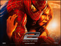 "Movie Posters:Action, Spider-Man 2 (Columbia, 2004). British Quad (30"" X 40"") Advance DS.Action.. ..."