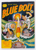 Golden Age (1938-1955):War, Blue Bolt V2#10 (Novelty Press, 1942) Condition: FN....