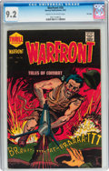 Golden Age (1938-1955):War, Warfront #26 File Copy (Harvey, 1955) CGC NM- 9.2 Cream tooff-white pages....