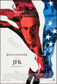 "JFK & Other Lot (Warner Brothers, 1991). One Sheets (2) (27"" X 40.25"" & 27"" X 41"") DS &..."