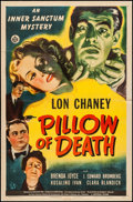 """Movie Posters:Horror, Pillow of Death (Universal, 1945). One Sheet (27"""" X 41""""). Horror.. ..."""