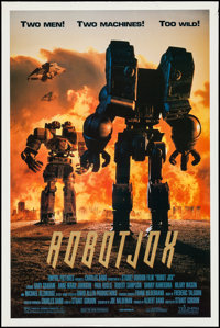 "Robot Jox & Other Lot (Triumph, 1990). One Sheets (2) (27"" X 39.5"", & 27"" X 40.5"") SS Regula..."