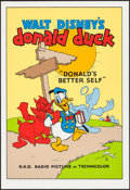 "Movie Posters:Animation, Donald's Better Self (Circle Fine Art, R-1980s). Fine Art Serigraphs (5) (21"" X 30.75""). Animation.. ... (Total: 5 Items)"