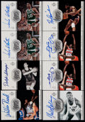 Basketball Cards:Lots, 2000 Upper Deck Legends Basketball Legendary Signatures AutographCollection (8). ...