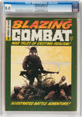 Magazines:Miscellaneous, Blazing Combat #3 (Warren, 1966) CGC VF 8.0 Cream to off-whitepages....