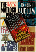 Books:Mystery & Detective Fiction, Robert Ludlum. Group of SIGNED Five Books. Various publishers and dates.... (Total: 5 Items)