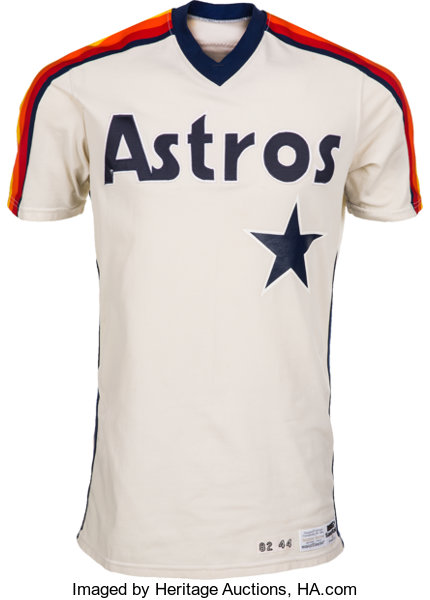 best service 735e8 c9d4b 1982 Nolan Ryan Game Worn Houston Astros Jersey, MEARS A10 ...