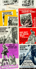Miscellaneous:Ephemera, [Movie Pressbooks]. Devil's Angels and Others Lot (AmericanInternational, 1967). Pressbooks (8) (Multiple Pages...