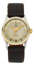 Timepieces:Wristwatch, Tudor Steel & Gold Oyster Prince 34 Automatic, Ref. 7950, circa1940's. ...