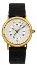 Timepieces:Wristwatch, Breguet Ref. 3320 Fine Gold Gentleman's Center Second Automatic....