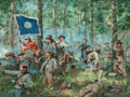 Illustration:Books, Don Troiani (American, b. 1949). Cleburne at Chickamauga,2004. Oil on board. 30 x 40 inches (76.2 x 101.6 cm). Signed a...