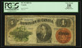 Canadian Currency: , DC-10 $4 1882. ...
