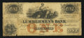 Obsoletes By State:Iowa, Dubuque, IA- Lumbermen's Bank of E.L. Fuller & Co. $1 Sep 1, 1857 Oakes 55-1. ...