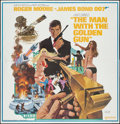 "Movie Posters:James Bond, The Man with the Golden Gun (United Artists, 1974). Six Sheet (77.25"" X 77""). James Bond.. ..."